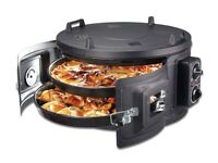 NEW DOUBLE ELECTRICAL ROASTER/GRILL OVEN FOR CHICKEN ,PIZZAS AND MORE