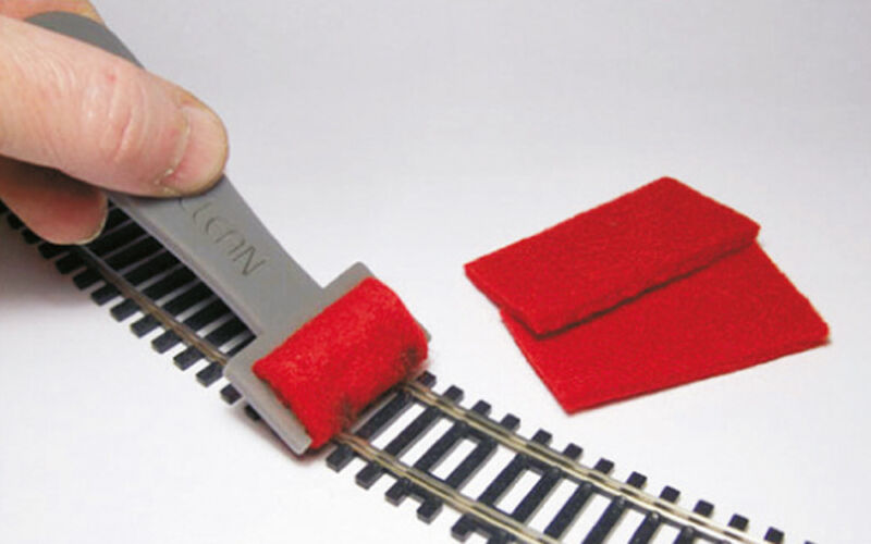 Proses PTC-001 Track Cleaner for Z, N, TT, HO, OO Tracks (Suits Hornby, Farish)