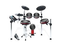 ALESIS CRIMSON MESH ELECTRONIC DRUM KIT