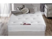 *BRAND NEW FACTORY WRAPPED*SMALL DOUBLE/4 feet wide/Free Local Delivery Bed Base & THICK FIRM MATTR
