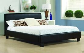 NEW - BEDS BEDS - LEATHER BEDS - MEMORY FOAM MATTRESS - NEW - DELIVERED