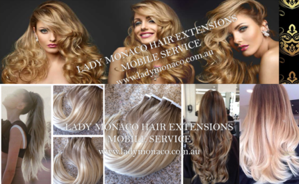 Hair Extensions Sydney Affordable AMAZING QUALITY LADY MONACO