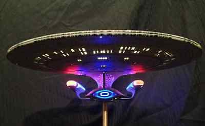 Space 1999 Eagle 1    *1 ENTERPRISE 1701-D Fiber Optic unmade 15 Inches*