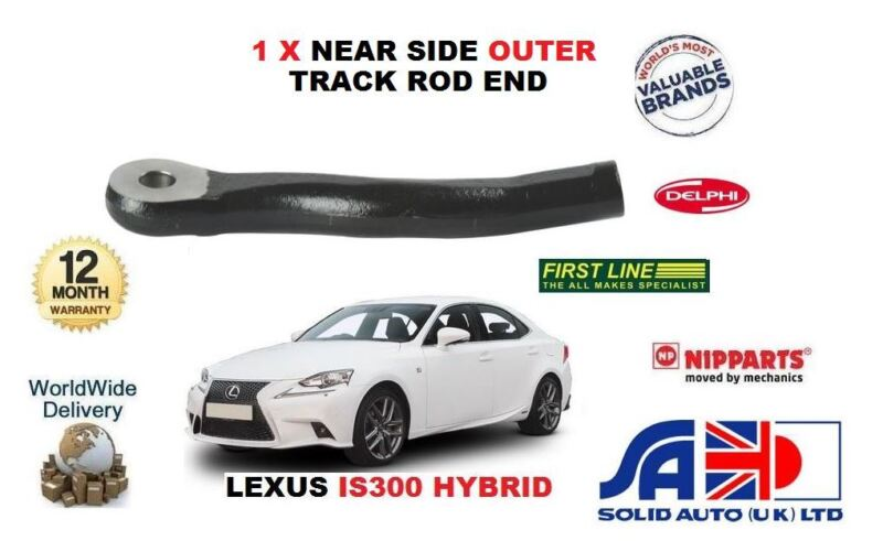 FOR LEXUS IS300 HYBRID 2013-> NEW LEFT HAND SIDE TRACK TIE ROD END OE 4546430060
