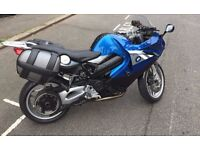 BMW F800ST (2011) Sports Tourer with BMW luggage panniers