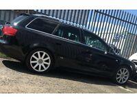 Audi A4 estate 2.0 tdi sline 05 reg