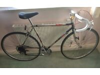 Raleigh The Winner Road Racing Vintage Retro Commuter Pub Bike