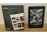 Kindle Paperwhite, in as new condition as not used.