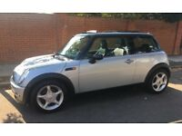 AUTOMATIC MINI COOPER PANORAMIC ELECTRIC ROOF LEATHER TRIM SERVICE HISTORY AUTO MINI COOPER