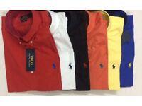 Ralph Lauren Mens Regular Fit Blake Shirts BNWT'S - All Colours - S, M, L, XL - 100% Authentic