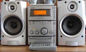 Sony Micro Hifi System & Speakers & RC - Radio CD Cassette model number HCD-CPX1 (Bath BA2)