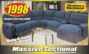 SAVE $2,000.00 on this Sectional!