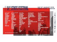 51st State Festival Saturday 6th August SOLD OUT