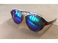 Ray Ban sunglasses havana brown green mirror lens RB4257 gold 4257 rayban Gatsby