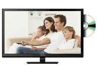 Blaupunkt (23/207I-GB-3B-HDP-UK) 23-Inch HD LED TV/DVD Combi with Freeview - Black [Energy Class A]