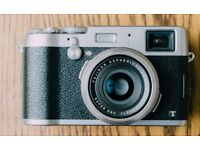 Fujifilm X100T (or with wide angle lens WCL-X100)