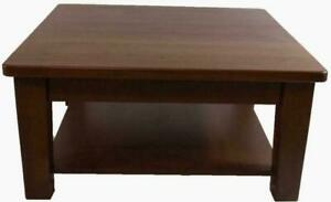 Amish Mennonites handcrafted ontario solid maple wood heavy duty coffee side entrance tables