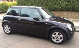 2005 AUTOMATIC MINI ONE INCREDIBLY LOW MILEAGE SERVICE HISTORY TWO FORMER OWNERS AUTO MINI ONE