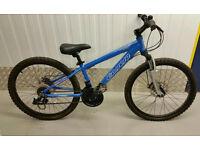 "Kids Carrera Luna 24"" Mountain Bike Colour Blue 21 Speed"