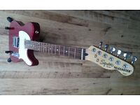 Squier Telecaster Red