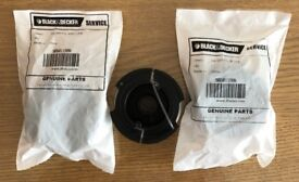 Free Black and Decker Strimmer Spool & Line A6481 x 3 For Reflex Strimmer: Genuine Product