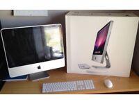 iMac 20 Apple C2D 2.0Ghz 2Gb 320Gb HDD MS Office Vektorworks DaVinci Ableton Sibelius Warranty
