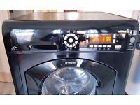 Black Hotpoint WMD 942 8kg capacity washing machine