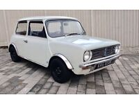 1972 AUSTIN MINI CLUBMAN British Leyland, Low miles, 2 owners, rare tax exempt, May px classic