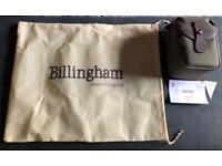 New Billingham 72 Camera Bag in Sage Fibrenyte & Chocolate