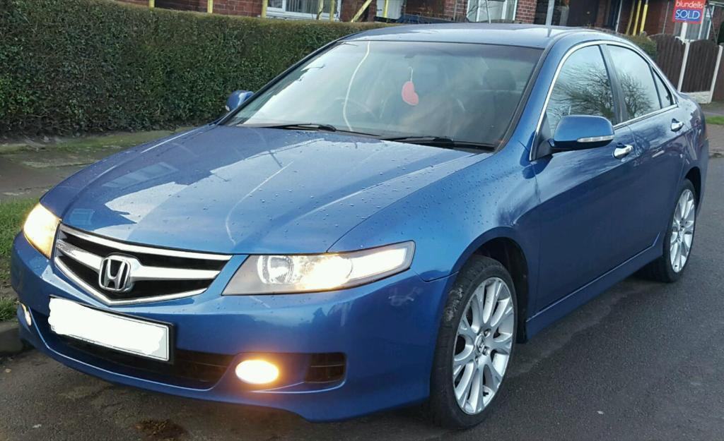 Honda Accord 2 2 I Ctdi Sport 2007 Facelift Blue Sat Nav