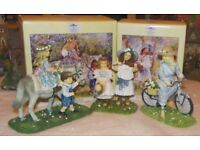 Leonardo Collection of children figurines