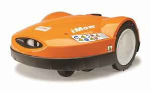 STIHL Robotic Lawnmower... the iMow is here!