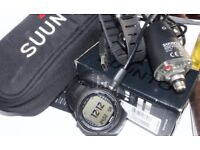 Suunto DX dive computer, +new transmitter and usb cable