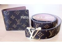 Good quality Louis Vuitton belt lv wallet 2 for £45