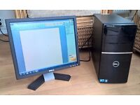 Dell Desktop PC with monitor – Ideal for kid's school/homework etc