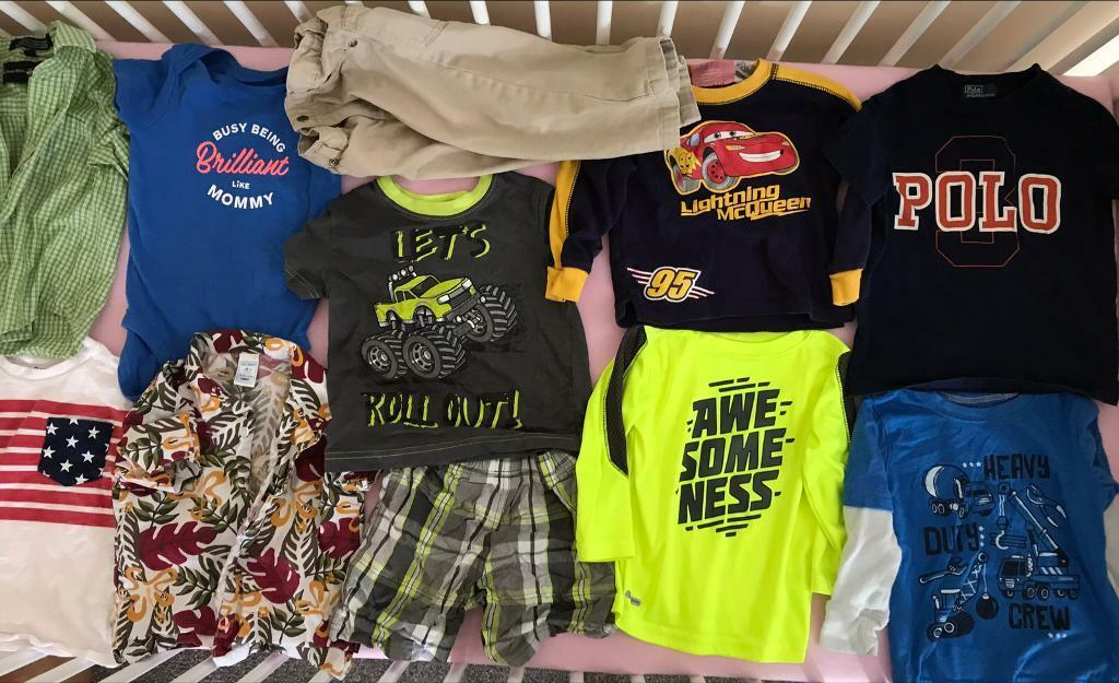 Toddler boy clothes (18/24 monthsin Peterculter, AberdeenGumtree - Bundle of toddler boy clothing. Size 18/24 months. From a smoke free and pet free home. Please text if interested