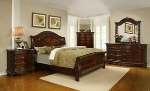 6 PC QUEEN/KING BEDROOM SETS ON SALE ( AD 96 )