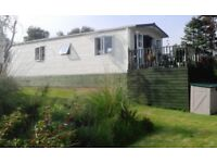 FOR SALE/RENT IN SOUTH AYRSHIRE; 2013 LUXURY (38ft x 12ft) VICTORY WOODLAND VUE CARAVAN (SLEEPS 6)