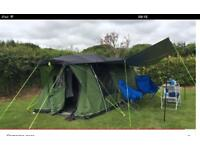 Outwell Blakey 300 tent and Topper/Canopy.