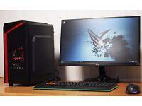 FAST Best Performance Quad Core Gaming PC Desktop Tower Windows 10 NVIDIA GTX Graphics