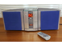 Sony HCD-ED2 Micro HiFi System with CD player, RDS Radio and Cassette Recorder