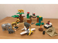LEGO DUPLO Photo Safari (6156) Play Set, with 8 animals and 3 figures