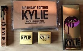 KYLIE JENNER COSMETICS 5-PIECE LIMITED EDITION BIRTHDAY COLLECTION.LIMITED STOCK. POSTAGE AVAILABLE