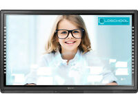 "Smart 6065. 65"" Interactive Touchscreen Flat Panel Display. 3 YEAR WARRANTY!"
