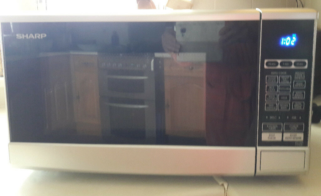 Microwave Sharp R270 Slm Silver 800w In Brighton