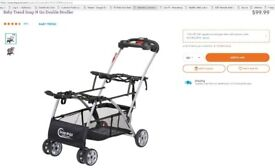 BabyTrend Snap n Go Stroller + 2 x Baby Car seats