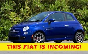 2013 Fiat 500 Sport–Accident Free–5 Speed Manual–Power Sunroof–