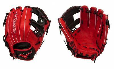 """Mizuno GMVP1154PSE4 RHT Red/Black 11.5"""" MVP Prime Special Baseball Glove"""