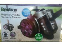 NEW Beldray BEL0590 Vac Compact Light 700W Cylinder Vacuum Bagless £26.99