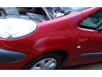Citroen Xsara Picasso Wing red silver passenger driver side